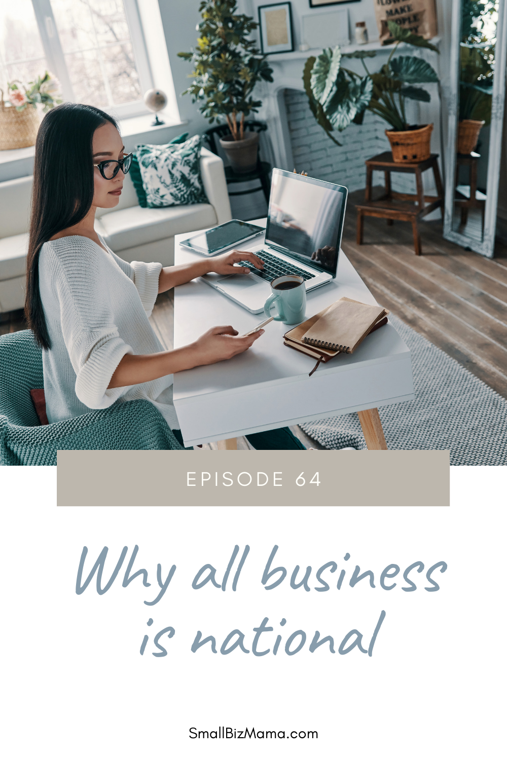 Episode 64 Why all business is national
