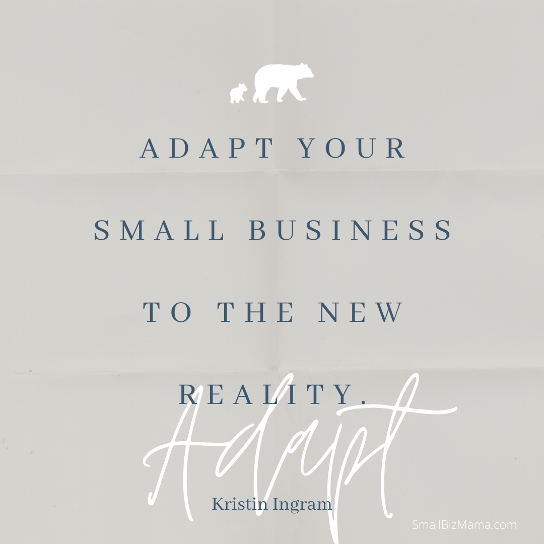 Adapt your small business to the new reality