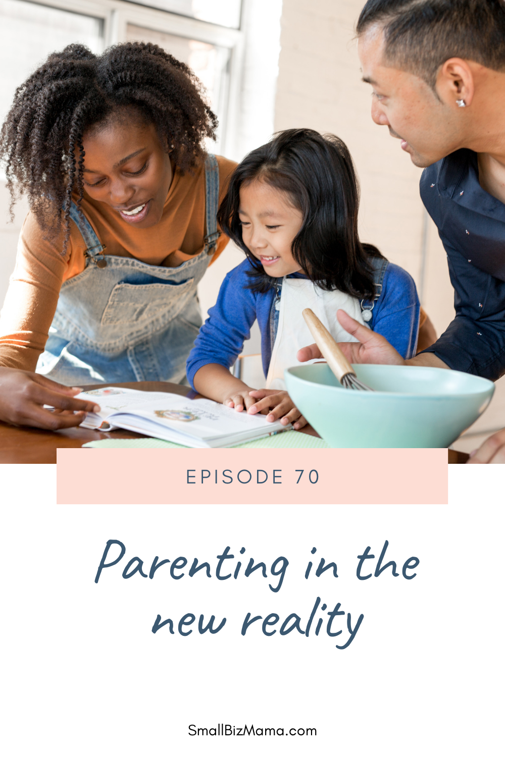 Episode 70 Parenting in the new reality